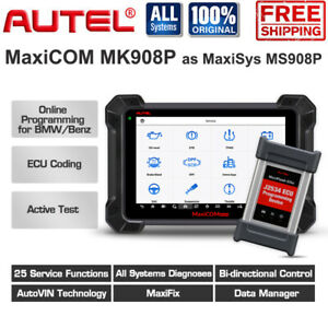 Autel Mk908pro Maxisys Ms908p Ecu Coding Key Programming Diagnostic Scan Tool