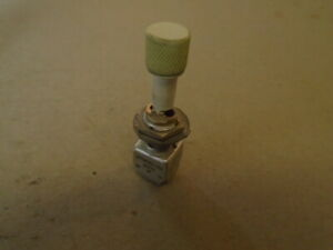 1 Ea Nos Honeywell Aircraft Toggle Switch various Applications P n 12tw149 10a