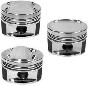 Manley 3 572in Bore 11cc Dish Extreme Duty Pistons For Ford 4 6l 5 4l Dohc