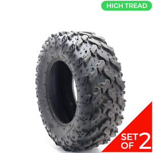 Set Of 2 Used 28x10r14 Interco Reptile Radial At 1n a 21 32