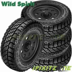 4 Wild Trail Ctx Lt245 75r16 E 120 116q All Season Commercial Pickup Truck Tires
