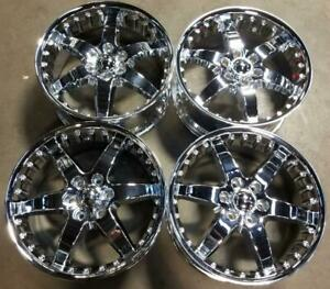 Blackhawk Wheels Rims 20 Inch 6x135 40mm Chrome