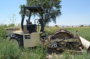 Ingersoll Rand Sd70f Padfoot Compactor