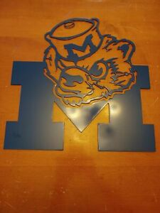 Cnc Plasma Cut Vintage Michigan Football Sign