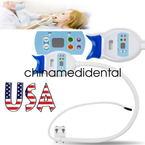 Hot Us Dental Teeth Whitening Cold Led Lamp Bleaching Accelerator 24w 12v 2a