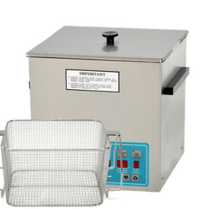 Crest Powersonic P1100d 45 Heated Ultrasonic Cleaner W perforated Basket