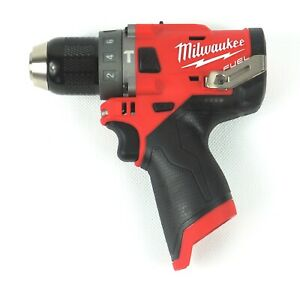 New Milwaukee Hammer Drill drivers 2504 20 1 2 M12 Fuel tool only