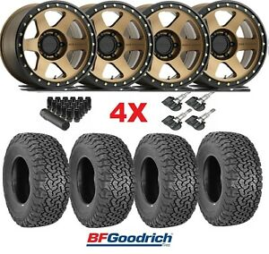 Method Wheels Rims Tires Bronze Off Road 285 70 17 Bfgoodrich Ko2 Con 6