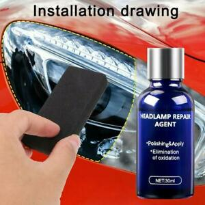 10ml Headlight Cover Len Restorer Repair Liquid Polish Cleaner Cars Accessory