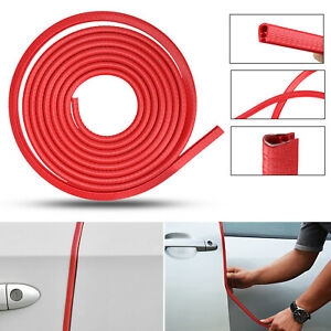 118 Car Rubber Seal Trim Molding Strip Door Edge Lock Protector All Weather Red
