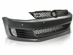 Gli Style And Design New Front Bumper With Pdc For Vw Jetta Vi 11 14 Prefacelift
