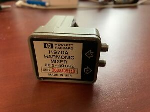 Hp Agilent 11970a Waveguide Harmonic Mixer 26 5 40ghz Tested Good