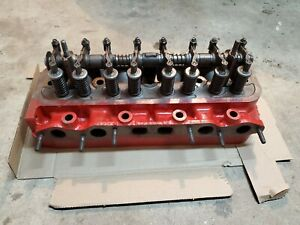 International Ih Ihc Farmall 340 Utility C135 Cylinder Head Valves Roccker Assy