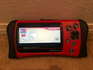 Snap On Solus Pro Diagnostic Scanner Eesc316 W Domestic Asian Euro W Keys