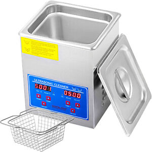 2l 60w Digital Ultrasonic Cleaner 110v Cleaning Machine Efficient