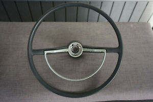 Vintage Volkswagen Steering Wheel Horn Ring Factory Oem 113951531f Bug Beetle