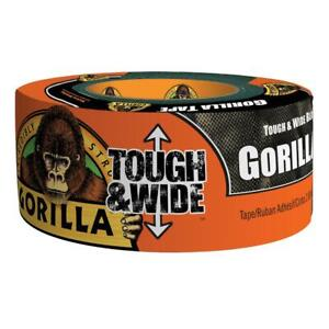 Gorilla 2 88 In X 30 Yds Tough And Wide Tape W Double thick Adhesive 6 pack