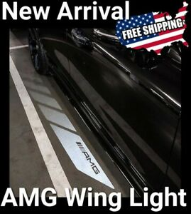 Mercedes Amg Projector Side Mirror Puddle Welcome Light C E Glc Class C63 E63