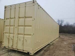 Shipping Container Rockford Illinois Tan 40 Hc