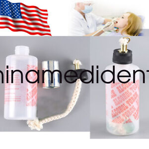 Usa Stock 200ml Dental Lab Oral Alcohol Light Torch Needle Flame Gentle Squeeze
