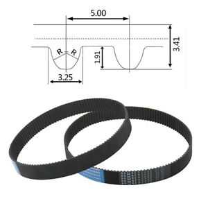 S5m Timing Belt Tooth Pitch 5mm Pulley Belt For 15 20 25mm Width 3d Printer Cnc