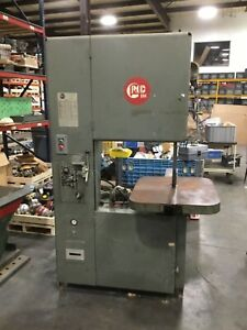 Grob 24 Vertical Band Saw 4v 24 3ph 230v 37bk