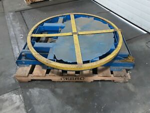 Pneumatic Lifting Table Pallet Carousel Positioner 598taw