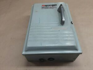 Fpe 1336snr 30 Amp 600v Fusible Safety Switch Disconnect 03b11pr3