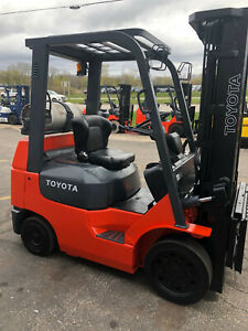 2005 Toyota 7fgcu25 5000lb Cushion Tire Forklift Lifttruck Hilo