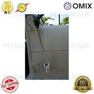 Omix ada For 76 95 Jeep Cj5 Cj7 Cj8 Wrangler Yj Antenna Kit Chrome 17214 01