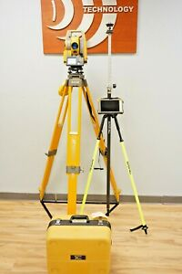 Topcon Ds205 Ac 5 Robotic Total Station Fc5000 Tablet Magnet Sokkia