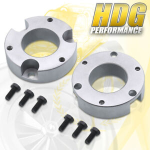 2 5 Front Leveling Spacers Lift Kit For 2005 2020 Toyota Tacoma 4runner 2wd 4wd
