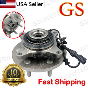 New Front Wheel Hub And Bearing Assembly For 04 08 F 150 Abs 4wd 4x4