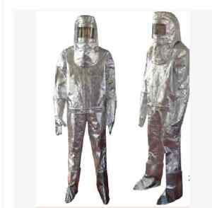 Thermal Radiation 500 Degree Heat Resistant Aluminized Suit Fireproof Clothes W