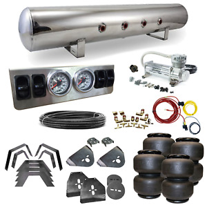 73 87 C10 C20 Airbag Kit Stage 1 1 4 Manual Control 4 Path Air Ride System