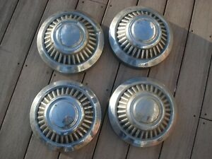 Full set 4 Vintage 1972 80 s Dodge Truck Or Van Hubcaps