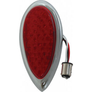 Model A Ford Tail Light Assembly Red Lens With 39 Red Leds Left Or Right