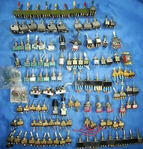 117 Mini Toggle Switches On off on On off Assorted High Quality Switches