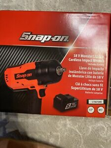 Snap On Ct9075 1 2 Monsterlithium ion Impact Wrench brand New Ships Free