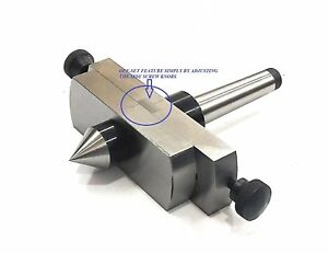 Lathe s Tailstock Attachment For Metal turning In Taper Pro Morse Taper 2mt