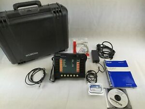 Olympus Nortec 500d Eddy Current Flaw Detector Ndt With Probes