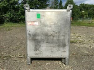 400 Gallon Stainless Steel 316l Tote Tank