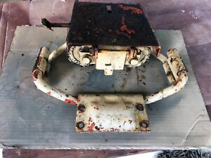 Case 430 Tractor Original Seat Assembly Used