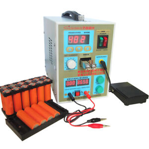 Sunkko 788h Spot Welder 110v 220v Dual Pulse Battery Led Solder Welding Machine
