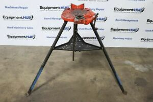 Ridgid No 460 1 8 To 6 Portable Trist And Chain Vise Tristand