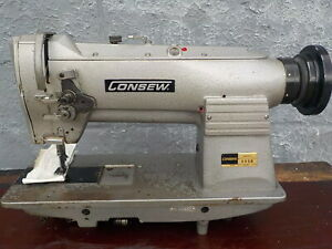 Industrial Sewing Machine Model Consew 255 B Single Walking Foot Leather