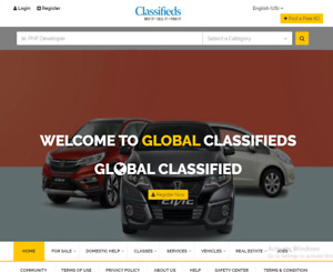 Classified Website Responsive Unique Free Installation Hosting