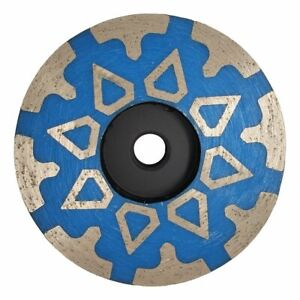 4 Diamond Grinding Cup Wheel For Granite Engineered Stone Concrete