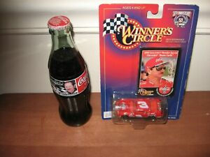 1998 Dale Earnhardt #3 Coca-Cola Chevy 1/64 Winners Circle & #3 Coca-Cola Bottle