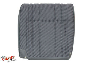 1995 1996 Dodge Ram Work Truck Base St driver Side Bottom Cloth Seat Cover Gray
